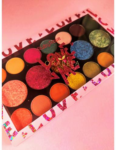 Paleta de sombras Love Me - Ruby Rose
